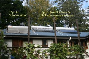 hydronic solar heating system